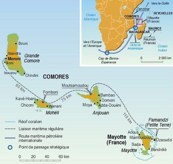Mayotte un archipel à la dérive
