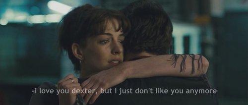 -Je t'aime    -Tu ne devrais pas utiliser des mots que tu ne comprend pas.