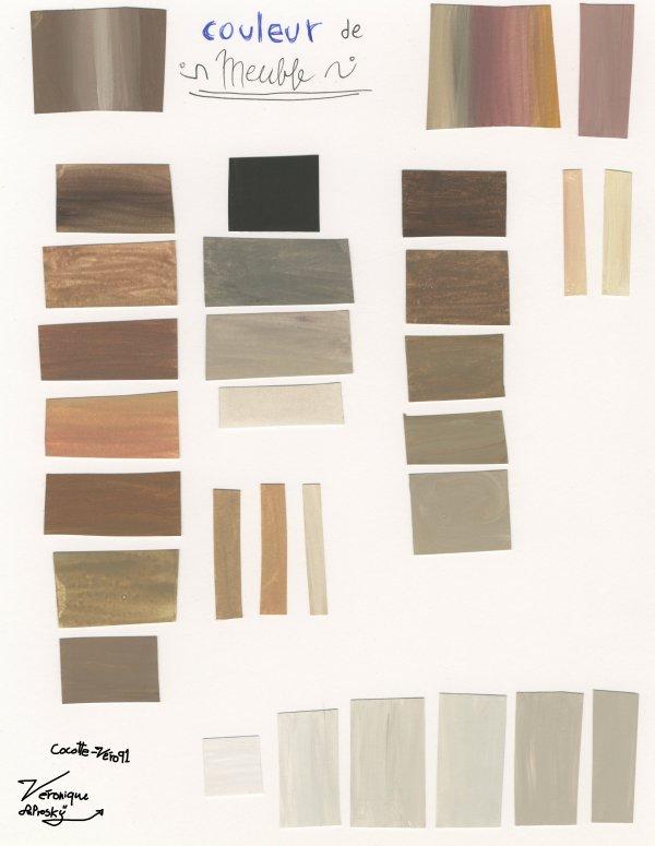 Recherche couleur pour meuble