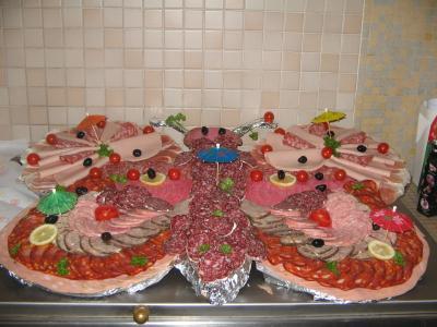 Id e d co pour la viande ou la charcuterie fait maison 1 clique du 45 - Presentation buffet froid deco ...