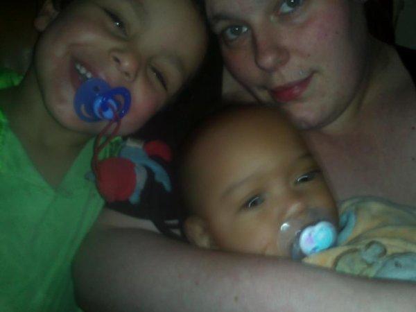 moi et mes deux bogoss <3
