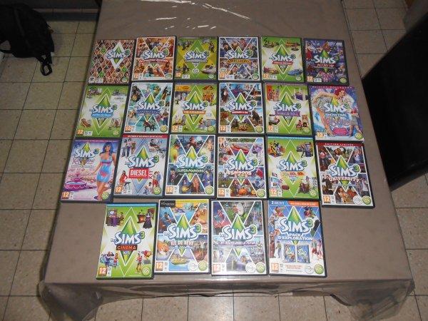 les Sims 3 (mes Sims)