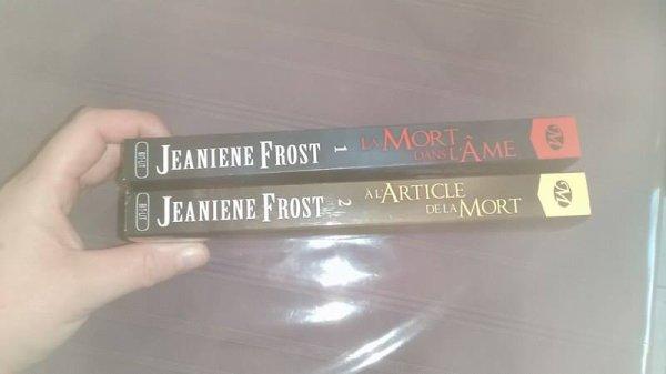 Jeaniene Frost  La mort dans l'âme