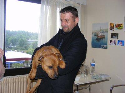Visite en maison de retraite à Plougastel le mardi 3 mai 2011