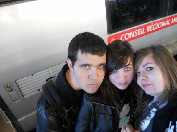 Loïc, Marion et moi.