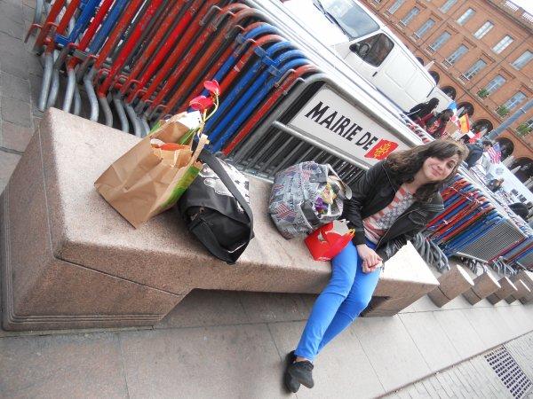 Journée du mercredi 25 avril 2012 avec Marion.