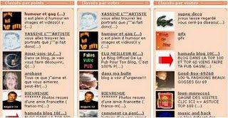 Meilleur blog sur Blogdestar.com en 2007