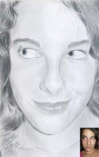 le portrait de Aude( cervooo-lent) la gagnante de mon 5éme tirage au sort le 1/10/2008