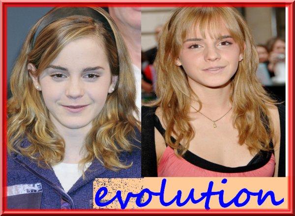 Emma Watson évolution