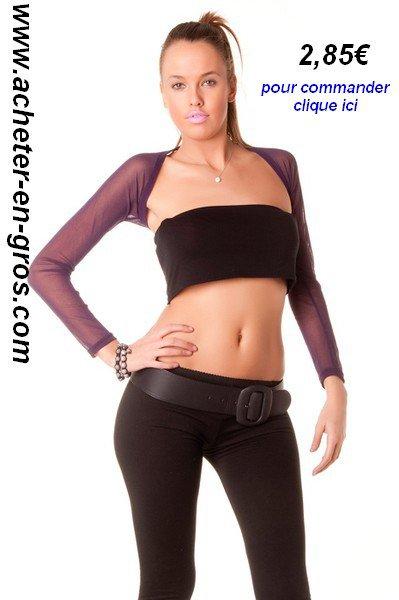 Manches légèrement transparentes. Mode femme à bas prix. Idées modes