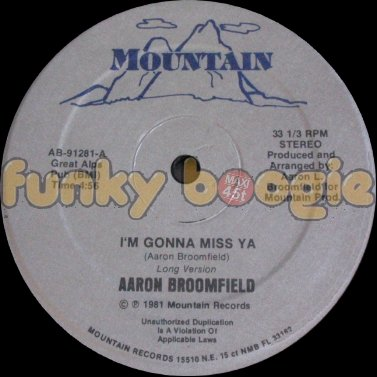Aaron Broomfield - I'm Gonna Miss Ya (Long Version)