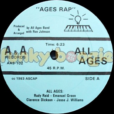 All Ages - Ages Rap