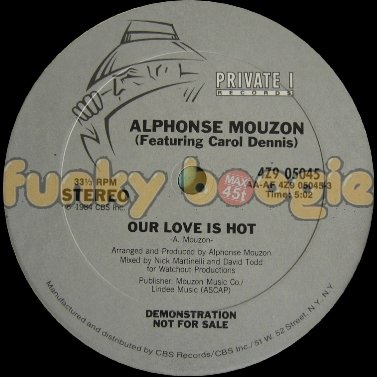 Alphonse Mouzon (Feat. Carol Dennis) - Our Love Is Hot