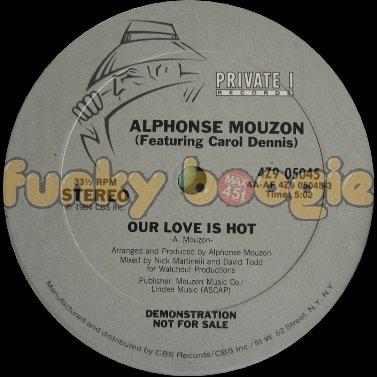 Alphonse Mouzon (Feat. Carol Dennis) - Our Love Is Hot