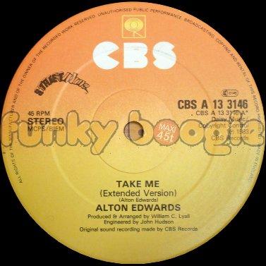 Alton Edwards - Take Me (Extended Version)