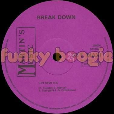Break Down - Hot Spot