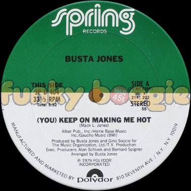 Busta Jones - (You) Keep On Making Me Hot