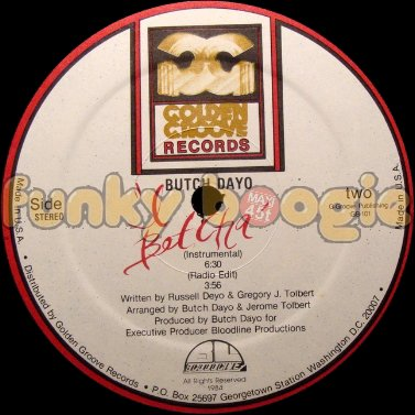 Butch Dayo - 'I Betcha' (Radio Edit)