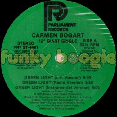 Carmen Bogart - Green Light (Radio Version)