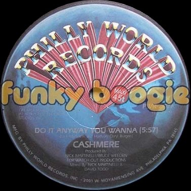 Cashmere - Do It Anyway You Wanna