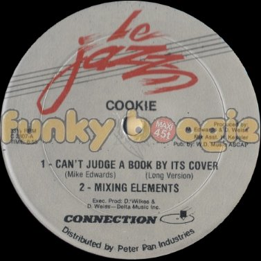 Cookie - Can't Judge A Book By Its Cover (Long Version)