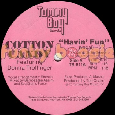 Cotton Candy Feat. Donna Trollinger - Havin' Fun (Vocal)