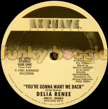 Delia Renee - You're Gonna Want Me Back