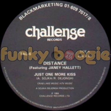Distance Feat. Janey Hallett - Just One More Kiss