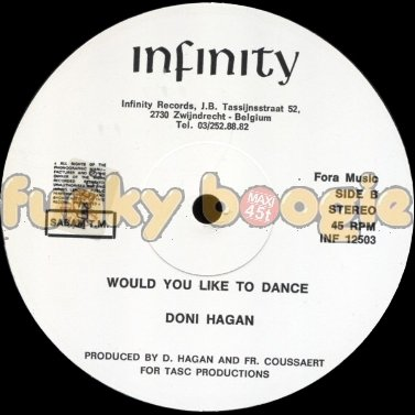 Doni Hagan - Would You Like To Dance