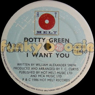 Dotty Green - I Want You