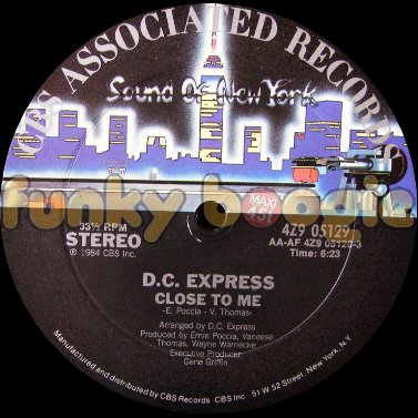 D.C. Express - Close To Me