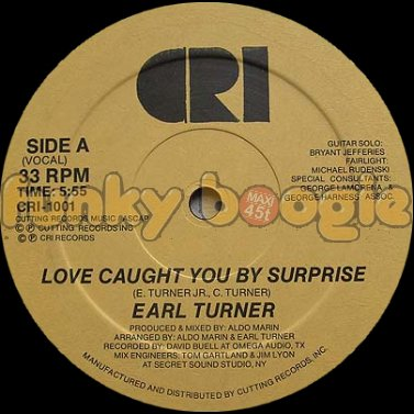 Earl Turner - Love Caught You By Surprise (Vocal)