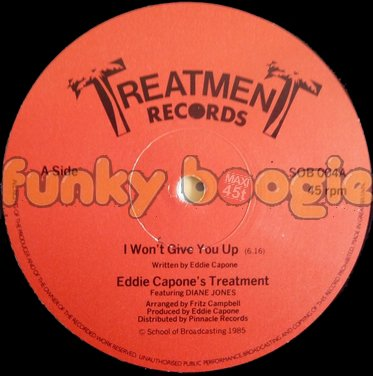 Eddie Capone's Treatment Feat. Diane Jones - I Won't Give You Up