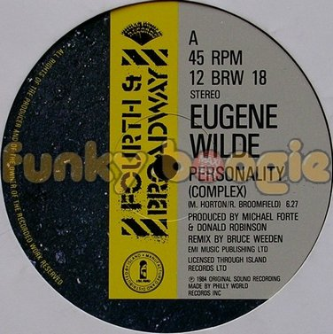 Eugene Wilde - Personality (Complex)