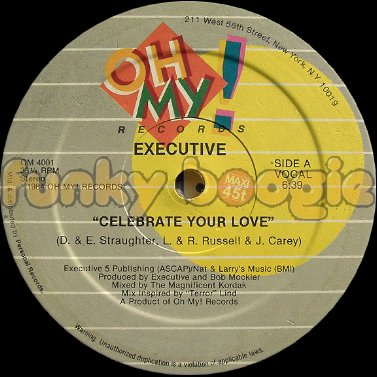 Executive - Celebrate Your Love (Vocal)
