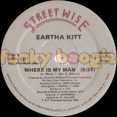 Eartha Kitt - Where Is My Man (Vocal)