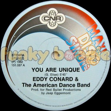 Eddy Conard & The American Dance Band - You Are Unique
