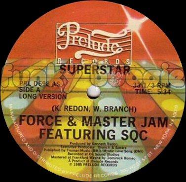 Force & Master Jam Feat. SQC - Superstar (Long Version)