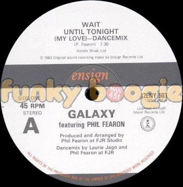 Galaxy Feat. Phil Fearon - Wait Until Tonight (My Love) (Dancemix)
