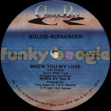 Goldie Alexander - Show You My Love