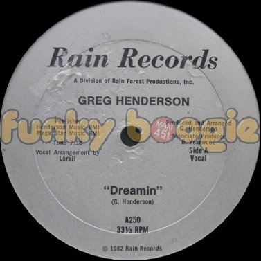 Greg Henderson - Dreamin (Vocal)