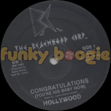 Hollywood - Congratulations (You're His Baby Now)