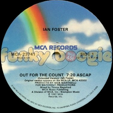 Ian Foster - Out For The Count (Extended Version)