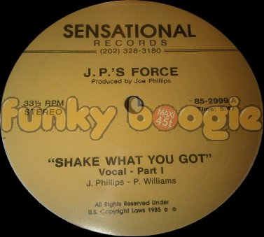 J.P.'S Force - Shake What You Got (Vocal - Part 1)