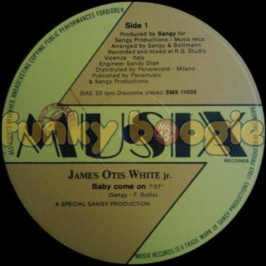 James Otis White jr. - Baby Come On
