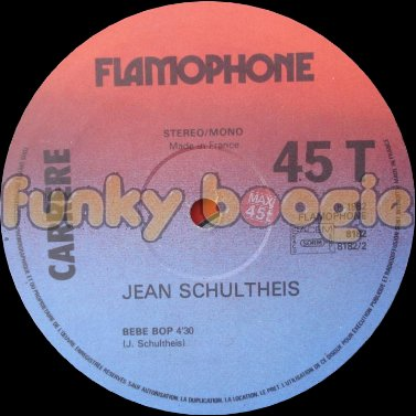 Jean Schultheis - Bebe Bop