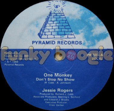 Jessie Rogers - One Monkey Don't Stop No Show (Vocal)