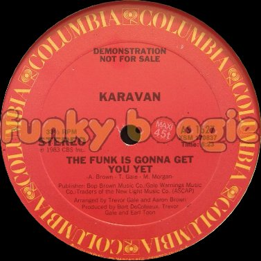 Karavan - The Funk Is Gonna Get You Yet