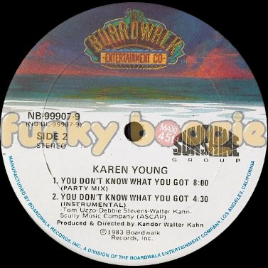 Karen Young - You Don't Know What You Got (Party Mix)