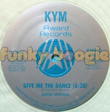 Kym - Give Me The Dance (Vocal Version)